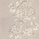 John Morris Boutique Rose Lilac Wallpaper