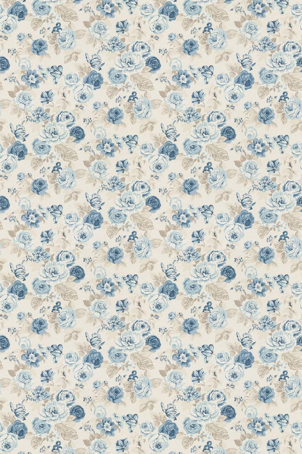 Genevieve Fabric - Chambray - by Studio G