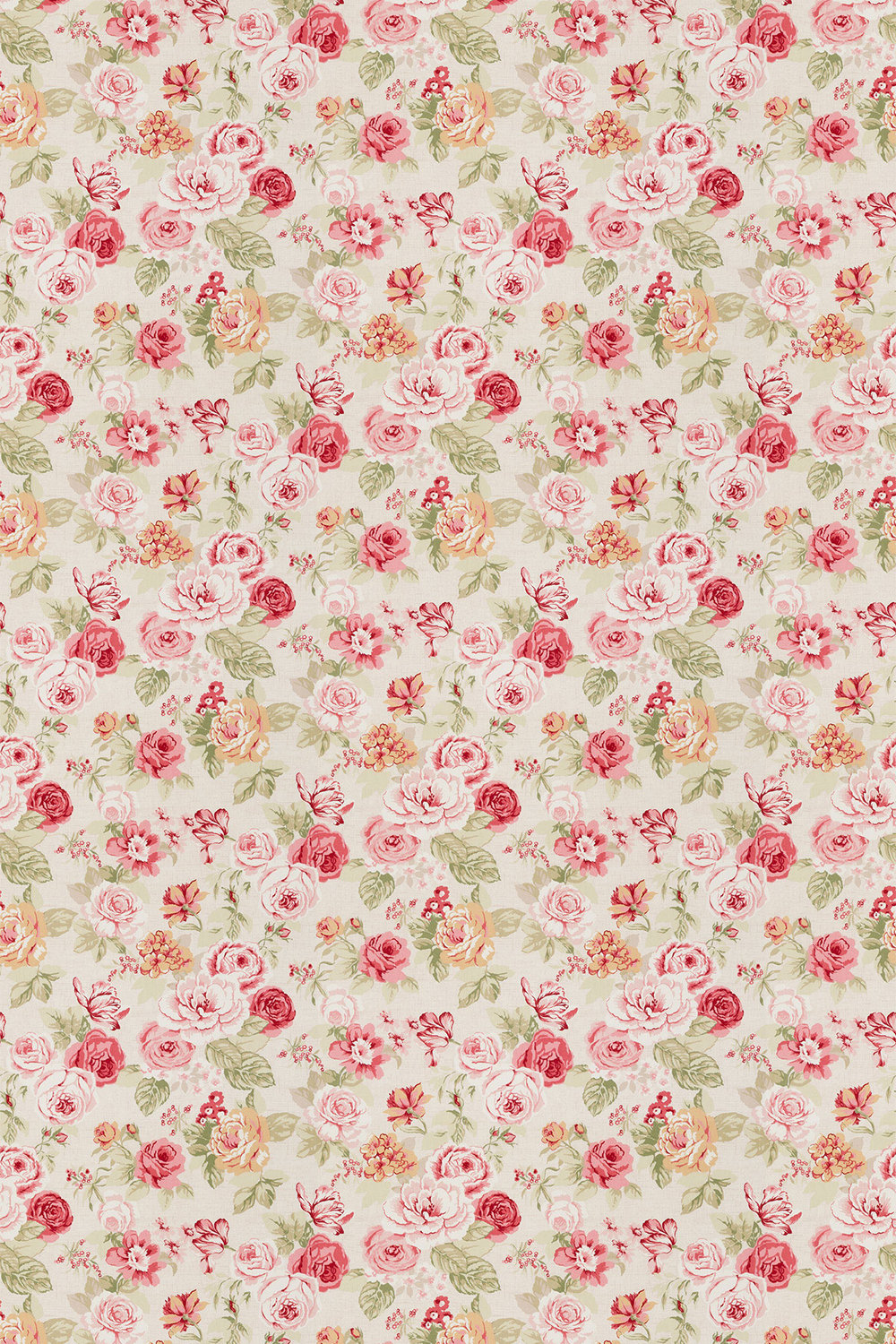 Studio G Genevieve Old Rose Fabric - Product code: F0622/04