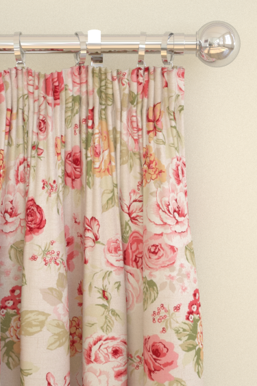 Studio G Genevieve Old Rose Curtains - Product code: F0622/04