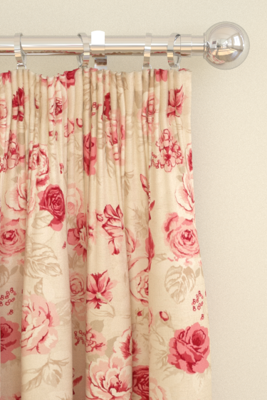 Studio G Genevieve Raspberry Curtains