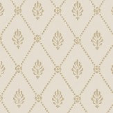Cole & Son Alma  Buff & Gold Wallpaper