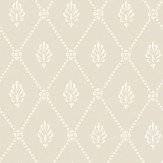 Cole & Son Alma  Soft Grey Wallpaper
