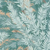 Cole & Son Florencecourt  Teal Wallpaper - Product code: 100/1001