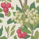 Cole & Son Strawberry Tree  Scarlet & Ivory Wallpaper - Product code: 100/10049
