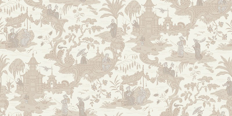 Chinese Toile By Cole Son