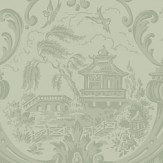 Cole & Son Chippendale China  Olive Wallpaper