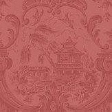 Cole & Son Chippendale China  Red Wallpaper