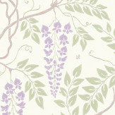Cole & Son Egerton  Lilac Wallpaper