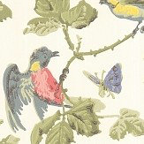 Cole & Son Winter Birds  Multi Wallpaper