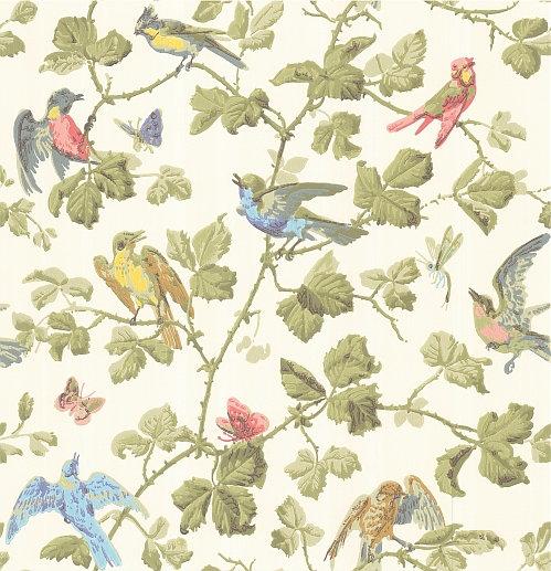 Cole & Son Winter Birds  Multi Wallpaper - Product code: 100/2006