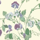 Cole & Son Sweet Pea  Violet Wallpaper - Product code: 100/6030
