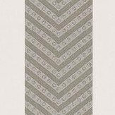 Matthew Williamson Nevis Taupe / Gilver Taupe / Stone / Metallic Gilver Wallpaper