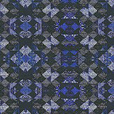 Matthew Williamson Mustique Navy Navy / Ultramarine Wallpaper - Product code: W6657-01