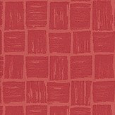 Nina Campbell Mahayana Lacquer Red Wallpaper - Product code: NCW4185-01