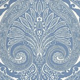 Nina Campbell Khitan Blue Blue / White Wallpaper - Product code: NCW4186-05