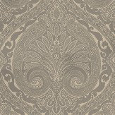 Nina Campbell Khitan Taupe and Gilver Metallic Taupe / Silver Wallpaper - Product code: NCW4186-09