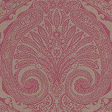 Nina Campbell Khitan Magenta and Gold Magenta / Gold Wallpaper - Product code: NCW4186-11