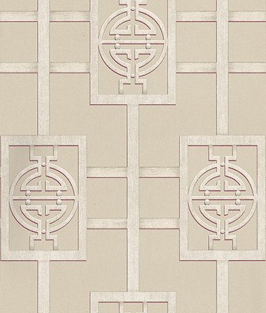 Nina Campbell Sansui Taupe Wallpaper - Product code: NCW4181-01