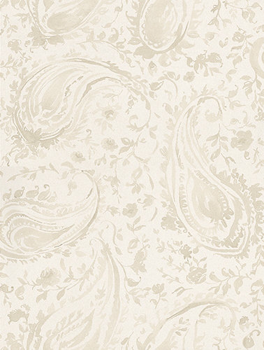 Nina Campbell Pamir Ivory and Pearl Ivory / Pearl Wallpaper - Product code: NCW4183-02