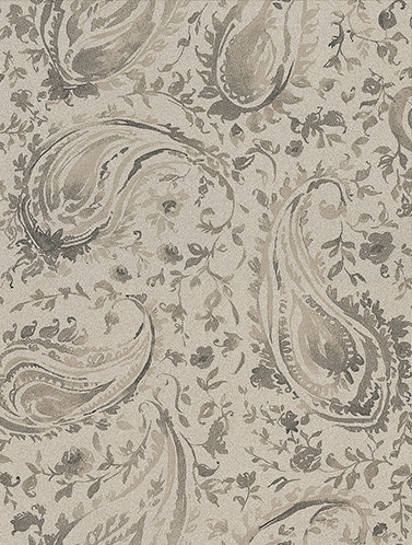 Nina Campbell Pamir Charcol Metallic Charcoal Wallpaper - Product code: NCW4183-07