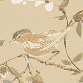 Nina Campbell Penglai Soft Gold Wallpaper - Product code: NCW4182-05