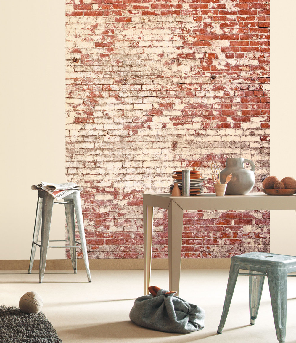 Brick mural by caselio wallpaper direct for Brick mural wallpaper
