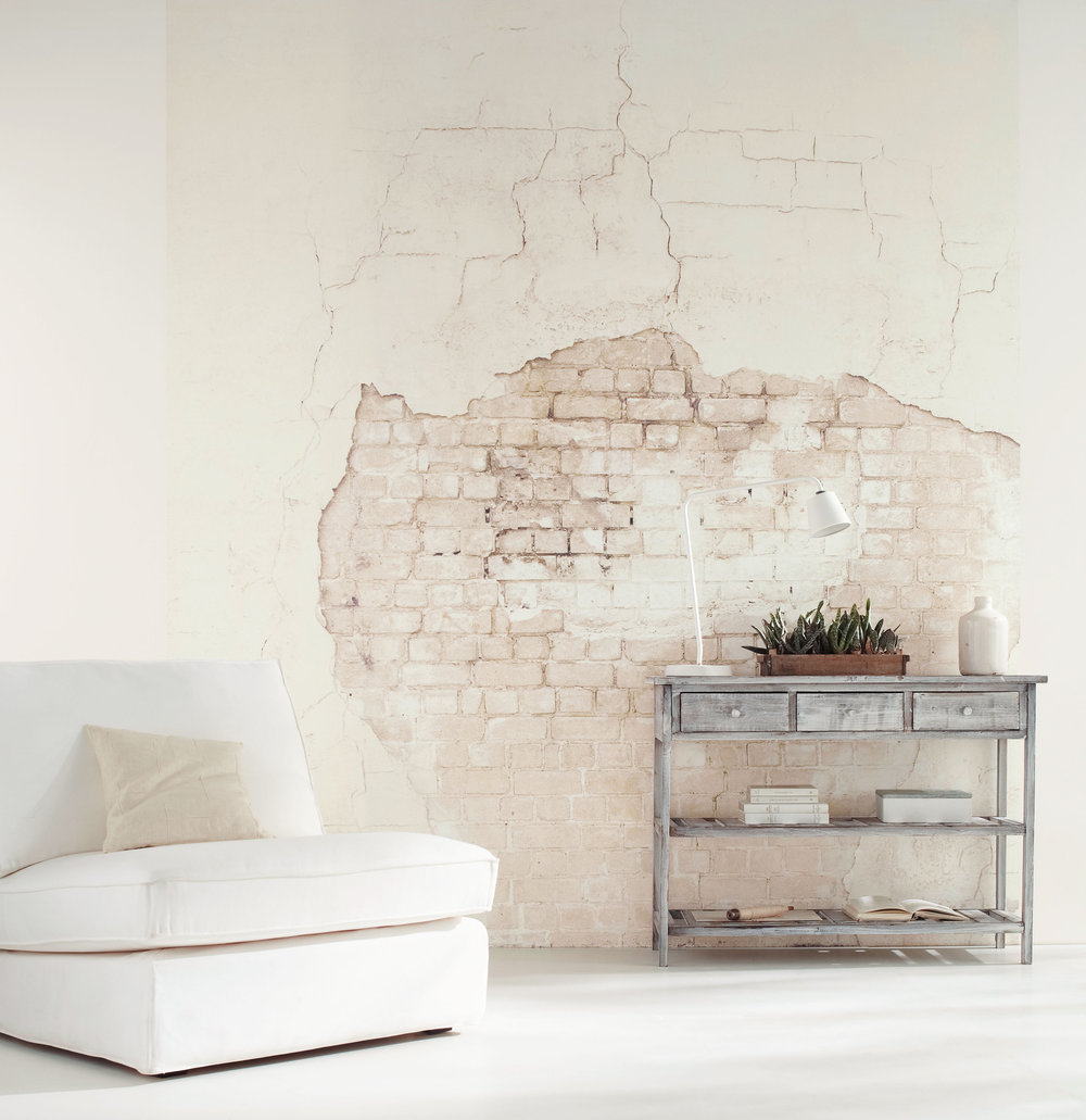 Wall Plaster Products : Distress wall mural by caselio wallpaper direct