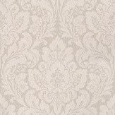 Casadeco Damask Pink Pale Pink / Soft Grey Wallpaper