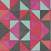 Brian Yates Tile Pink/Aqua Wallpaper