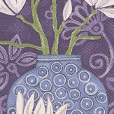 Brian Yates In Bloom Amethyst Wallpaper