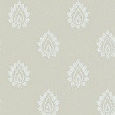Sanderson Florrie  Flax Wallpaper - Product code: 214059