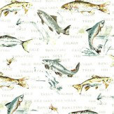 Prestigious Fly Fishing Slate Fabric
