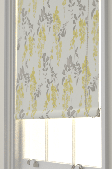 Sanderson Wisteria Blossom  Linden/Charcoal Blind - Product code: 223578