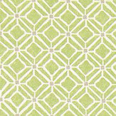 Sanderson Fretwork  Apple/Taupe Fabric