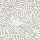 Sanderson Calico Birds  Slate Fabric - Product code: 223584