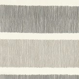 Sanderson Tatami Stripe  Charcoal/Linen Fabric - Product code: 223603