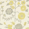 Sanderson Batik Garden  Linden/Slate Fabric - Product code: 223576