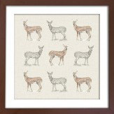 Arthouse Deer Framed Print Art