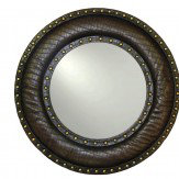 Arthouse Brown Studded Mirror