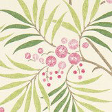 Sanderson Arberella  Berry/Cream Fabric - Product code: 223587