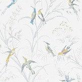 Sanderson Tuileries  Silver / Multi Wallpaper - Product code: 214083