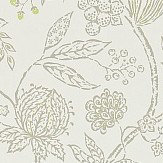 Sanderson Solaine  Cream / Pewter Wallpaper - Product code: 214085