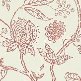 Sanderson Solaine Calico / Russet Wallpaper - Product code: 214086