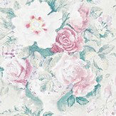 Sanderson Giselle Dove / Pink Wallpaper - Product code: 214088