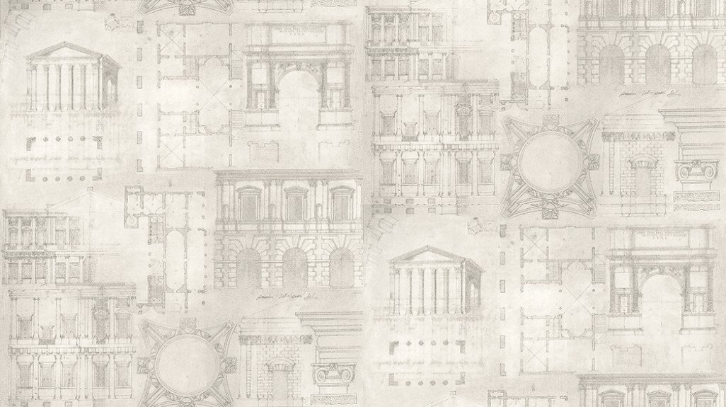 Image of Andrew Martin Wallpapers Augustus Pencil, AG02 - Pencil