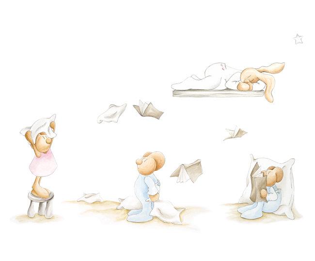Coordonne Pilar Burguet Flying Books Mural - Product code: 3400075
