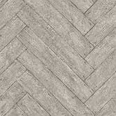 Andrew Martin Parquet Charcoal Wallpaper