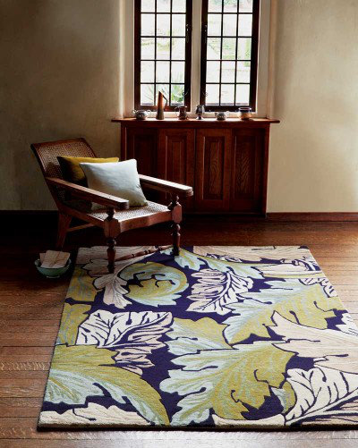 Image of Morris Rugs Acanthus Forest Rug, 221305