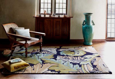 Image of Morris Rugs Acanthus Forest Rug, 221310
